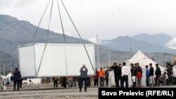 Pamje nga kampi i refugjatëve Konik në Klinavac në Mal të Zi