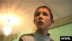 15-летний Николай Белокуров, воспитанник Талдыкорганского детского дома «Айналайын».