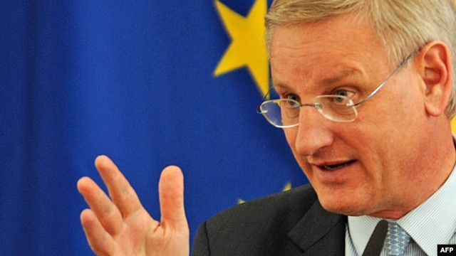 "Former Swedish Foreign Minister Carl Bildt: ""There were those who said that 'Putin is not going to do this, Putin is not going to do that,' and since then Putin has done virtually everything."""