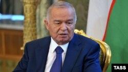 Өзбекстан президенті Ислам Каримов. Мәскеу, 15 сәуір 2013 жыл.