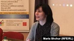 Эльмира Муратова на семинаре в Праге