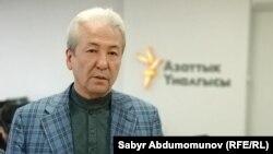 """""""Бутун Кыргызстан"""" партиясының төрағасы Адахан Мадумаров."""