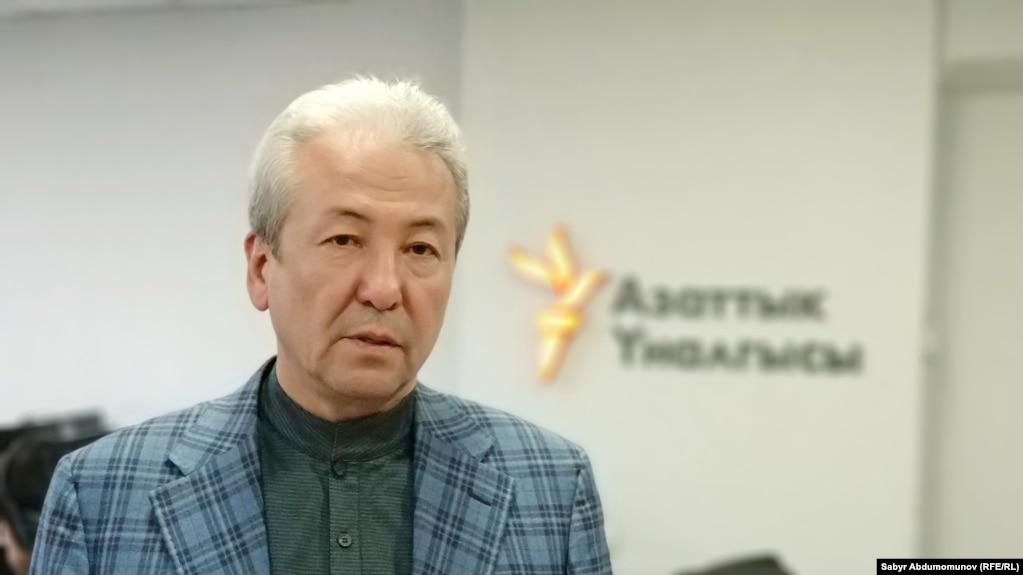 """Адахан Мадумаров, """"Бүтүн Кыргызстан"""" партиясынын лидери."""