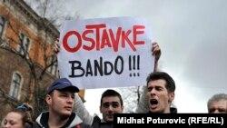 Protestele din Bosnia