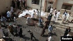 انفجار در بیمارستان مدنی کویته. ۱۸ مرداد ۹۵