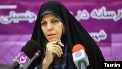 File photo - Iranian Vice President Shahindokht Molaverdi, unadted.