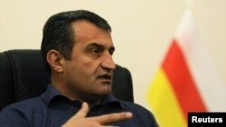 Ossetia parliament speaker Anatoly Bibilov has pushed for greater integration with Russia.