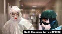 Студенты медицинского вуза в Дагестане