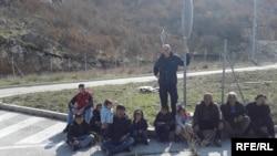 Bosniya Herseqovina sərhədində miqrantlar