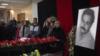 Минскіде ауыр кеселден қайтыс болған журналист Геннадий Бендицкиймен қоштасу рәсімі. Алматы, 6 желтоқсан 2017 жыл.