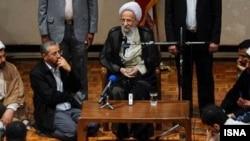 مصباح یزدی و کامران باقری لنکرانی