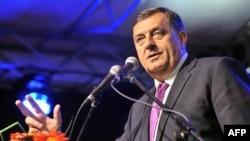 Milorad Dodik, the president of Bosnia-Herzegovina's Republika Srpska entity.