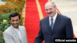 Лукашэнка і Ахмадзінэжад у Тэгеране, 2006