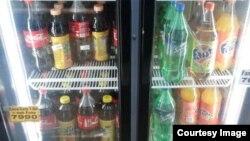 Uzbekistan- Coca Cola drinks in Tashkent shop