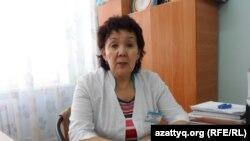 Халида Абдиханова, старший педагог Шымкентского специализированного дома ребенка. 17 февраля 2014 года.