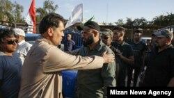 ورود نیروهای حشدالشعبی به غرب ایران