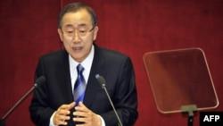 Пан Ги Мун, генеральный секретарь ООН.