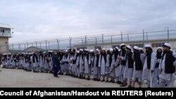 زندانیان رها شدهٔ طالبان از بند حکومت افغانستان