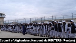 Since April 8, the Afghan government has released a total of 300 Taliban inmates.