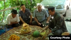 Uyghurs in China (file photo)