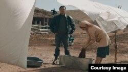 Кадр из короткометражного фильма «Өліара» режиссера Ельзата Ескендира.