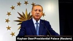 Действующий президент Турции Реджеп Эрдоган