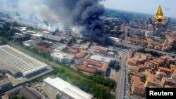 У поліції заявили, що на роботу аеропорту Болоньї подія не вплинула