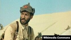 """Дудаев Муса, """"Белое солнце пустыни"""" (1969) кинофилм гойтуш даьккхина сурт."""
