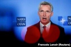 Sekretari i Përgjitshëm i NATO-s, Jens Stoltenberg.