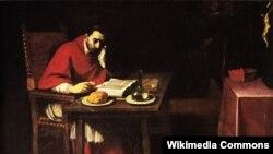 Даніэле Крэсьпі, «Сьв. Карла Барамэй у дні посту» (1628).