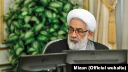Iran -- Attorney General, Mohammad Jafar Montazeri in the meeting of Judiciary officials, on Monday February 06, 2017.