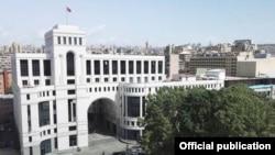 Здание МИД Армении в Ереване (архив)