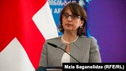 Ministrja e Jashtme e Gjeorgjisë, Maia Panjikidze.