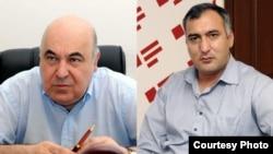 Çingiz Abdullayev və Şərif Ağayar