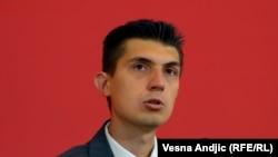 Mladen Obradović na konferenciji za novinare