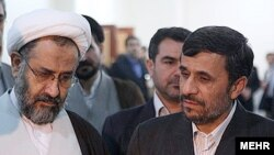 حیدر مصلحی وزیر اطلاعات دولت محمود احمدینژاد