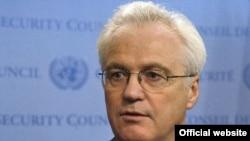 ویتالی چورکین، سفیر روسیه در سازمان ملل متحد می گوید کشور از تحریم ها علیه ایران حمایت می کند.