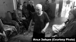 """В коридоре интерната """"Степановский"""""""