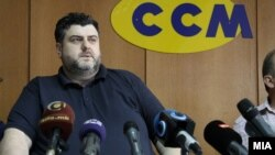 Претседателот на Сојузот на синдикатите на Македонија, Дарко Димовски