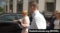 Тимошенко не відповіла на запитання про зустріч з Коломойським після його повернення в Україну