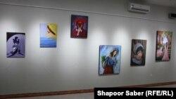 برگزاری نمایشگاه نقاشی به منظور مبارزه با خودکشی زنان در ولایت هرات. Jan.07.2020