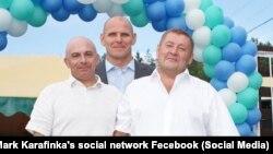 Марк Карафинка, Александр и Сергей Карелины