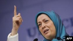 مریم رجوی، رئیس شورای ملی مقاومت ایران