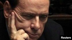 Италијанскиот премиер Силвио Берлускони.