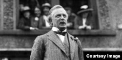 David Lloyd George, prim-ministru al Marii Britanii (Foto: Biblioteca Centrală Universitară, Iași)