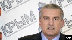 Самопроголошений «прем'єр-міністр» Криму Сергій Аксьонов