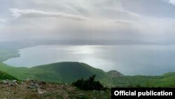 Национален парк Галичица во Северна Македонија.