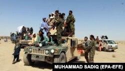 Припадници на авганистанските безбедносни сили