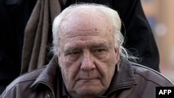 Vladimir Bukovsky arriving at court in 2016.