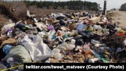 Свалка мусора (архивное фото)